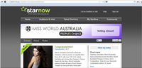 Miss Wold Australia People's Choice 2012 Winner presented by Starnow