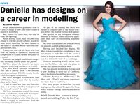 Featured in a local Newspaper, September 2012