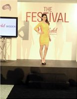 Modeling for Westfield Fashion Show