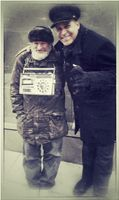 Angel With Famous Buddy RadioMan