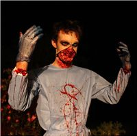 """Evil Surgeon makeup for the short film """"Bully"""""""