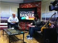 Recent shot from My chat show in Ireland.