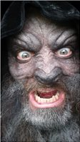 4 hours in make up as a Werewolf