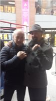 Having the Banter with Barry the Clones Cyclone Mc Guigan in Belfast