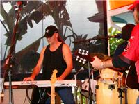 Curtis Bush performing live on-stage on the Space Coast, Florida