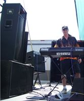 Curtis Bush Performing on Pink Floyd's Mobile Stage with Big Daddy Band, American Legion, Florida