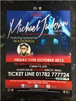 Reheasall for new show MJ / Madonna Special guest me Material Girl in NAVI show