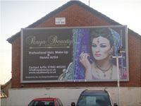 Billboard advertisement for Raya Beauty