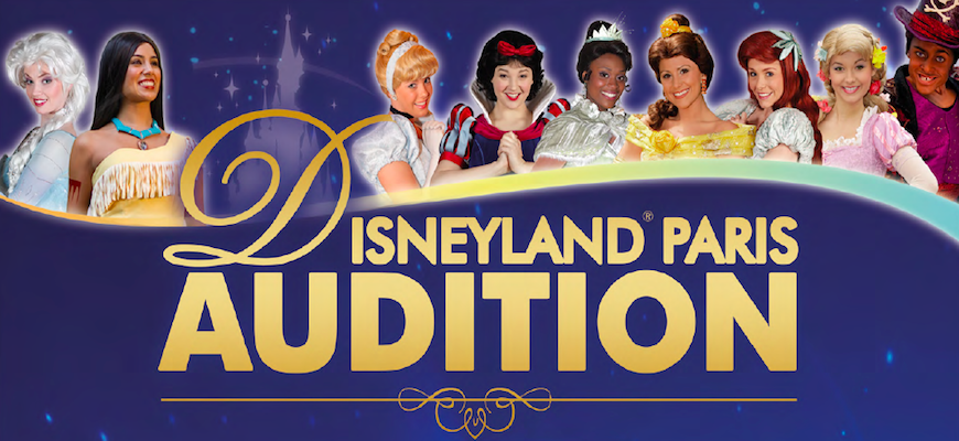 Disneyland Paris Auditions – Madrid