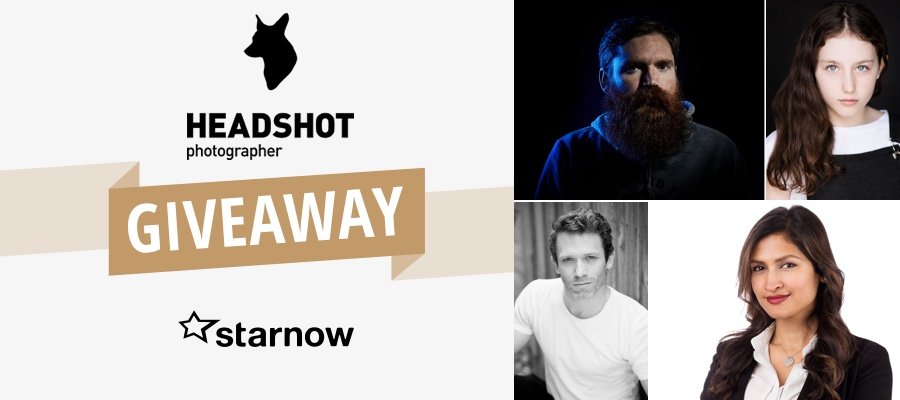 LAST CHANCE! Be in to Win a Headshot Package with Josh Wayne