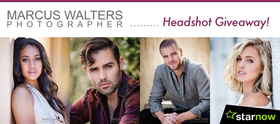 LAST CHANCE: Be in to Win New Headshots From Marcus Walters Photographer