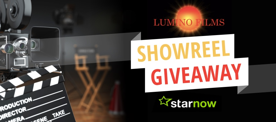 StarNow Giveaway: Showreel Workshop Day with Lumino Films