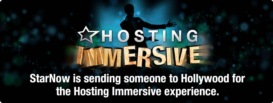 Win a spot in LA's prestigious Hosting Immersive program
