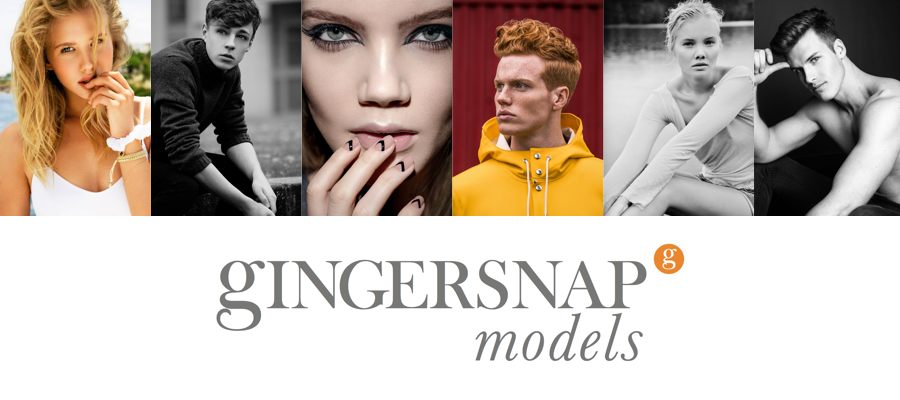 Gingersnap New Faces Model Search