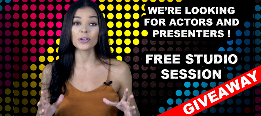 Giveaway!!!!- FREE 45 Minute Green Screen Video Shoot