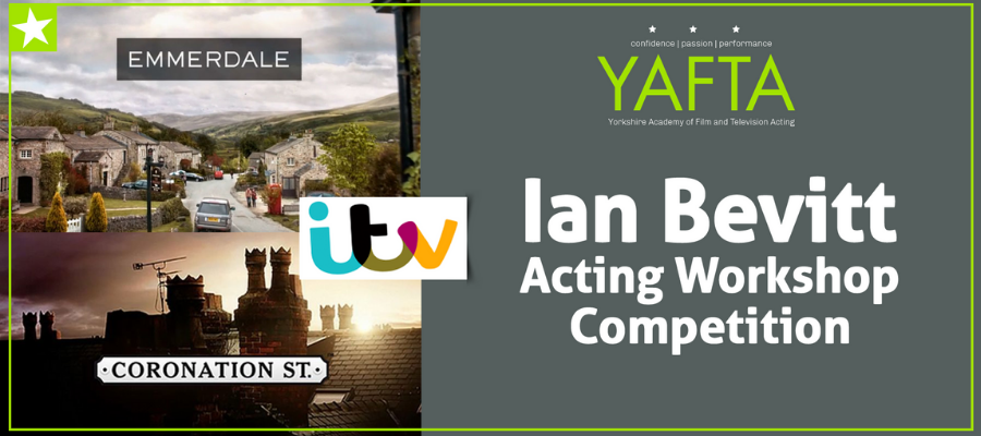 GIVEAWAY- WIN!!! Exclusive Acting Workshop With Ian Bevitt!!!