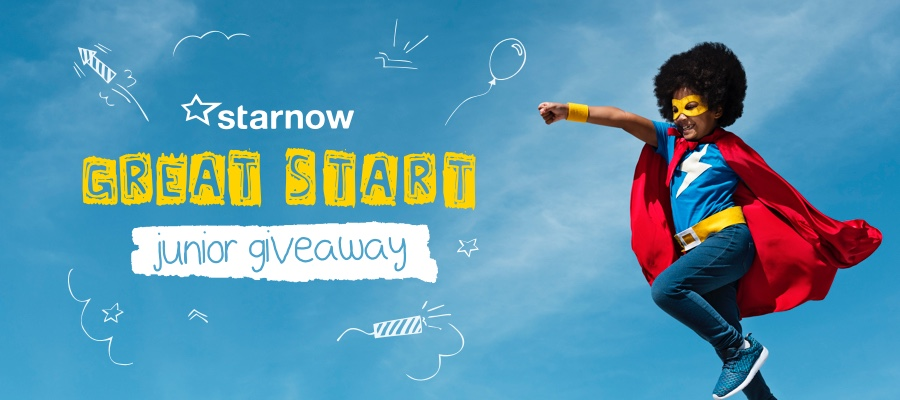 CLOSING SOON: Be in to Win the 'Great Start Jnr' Prize with StarNow!
