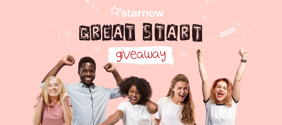 GIVEAWAY CLOSING SOON: Be in to Win the StarNow Great Start Prize!