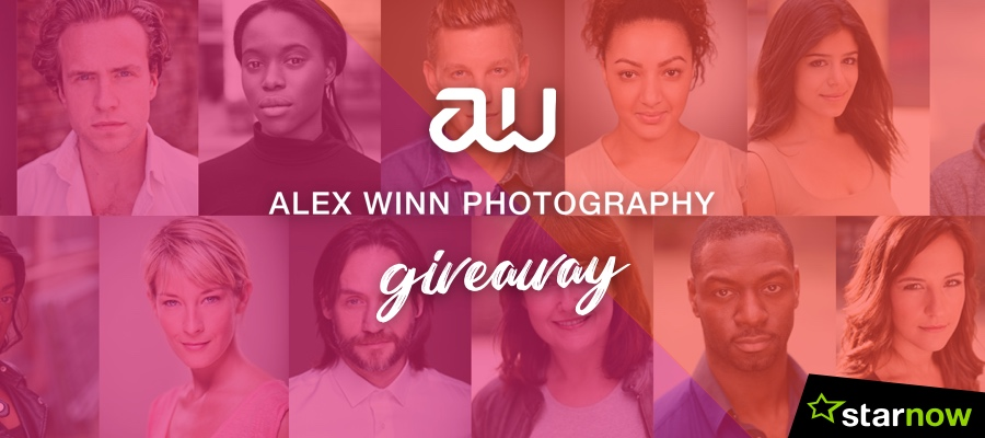 StarNow Giveaway - Headshot Session with Alex Winn Photography
