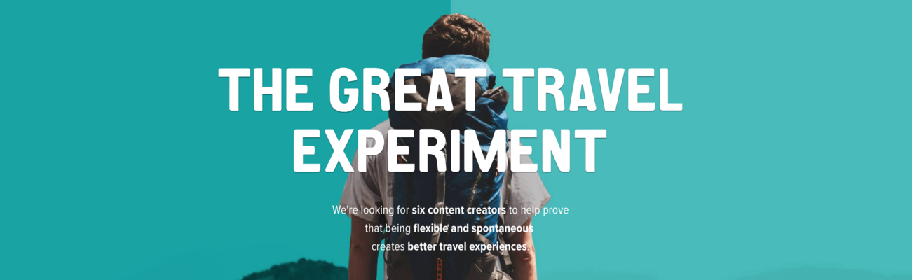 Travel Addicts Wanted To Take Part In The Great Travel Experiment