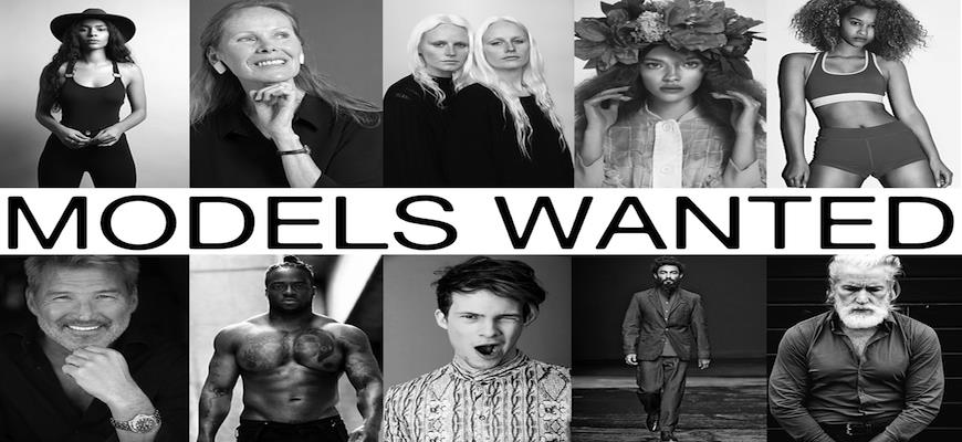 Models Wanted For Commercial and Photographic work