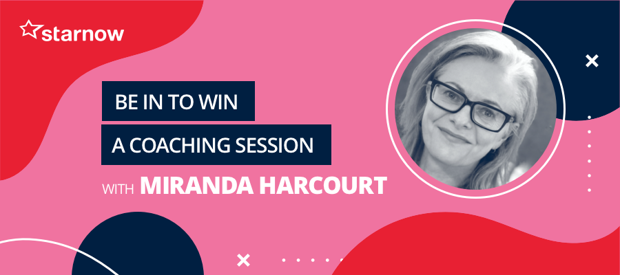 CLOSING SOON!! GIVEAWAY: Be in to Win A Coaching Session w Miranda Harcourt