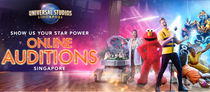 *SINGAPORE* Universal Studios Singapore 2020 Auditions!