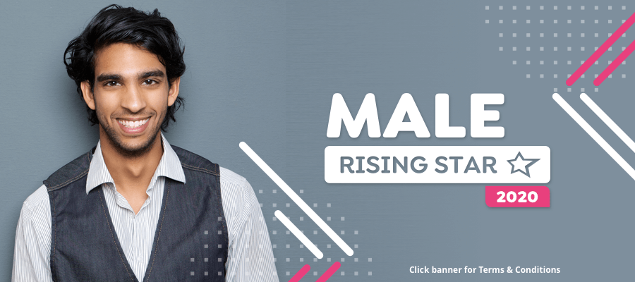 Are you StarNow's Male Rising Star 2020?