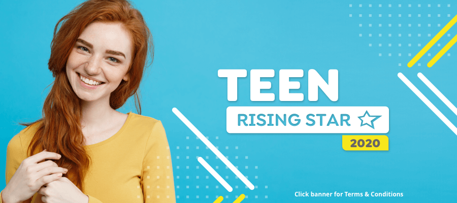 CLOSING SOON: Are you StarNow's Teen Rising Star 2020?