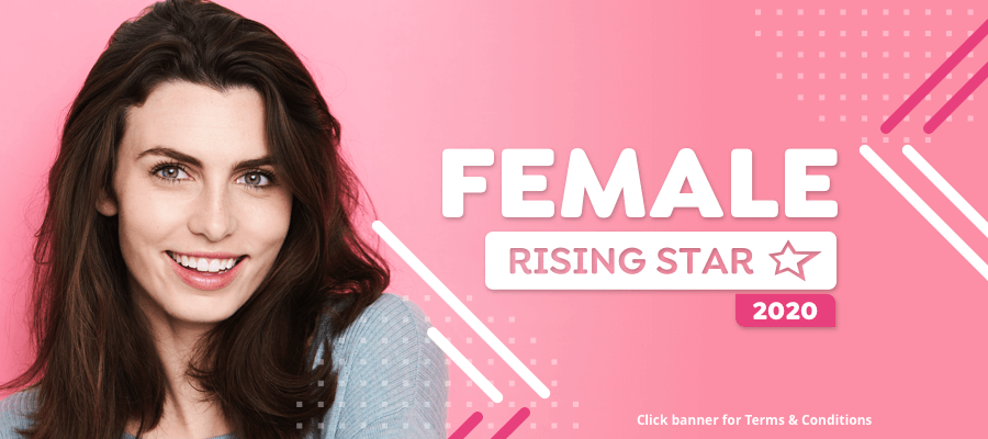 CLOSING SOON: Are you StarNow's Female Rising Star 2020?