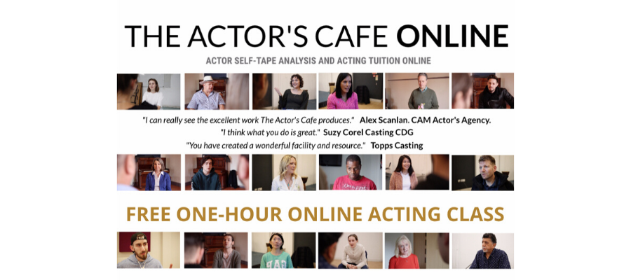 GIVEAWAY - Free Online Acting Classes With The Actor's Cafe