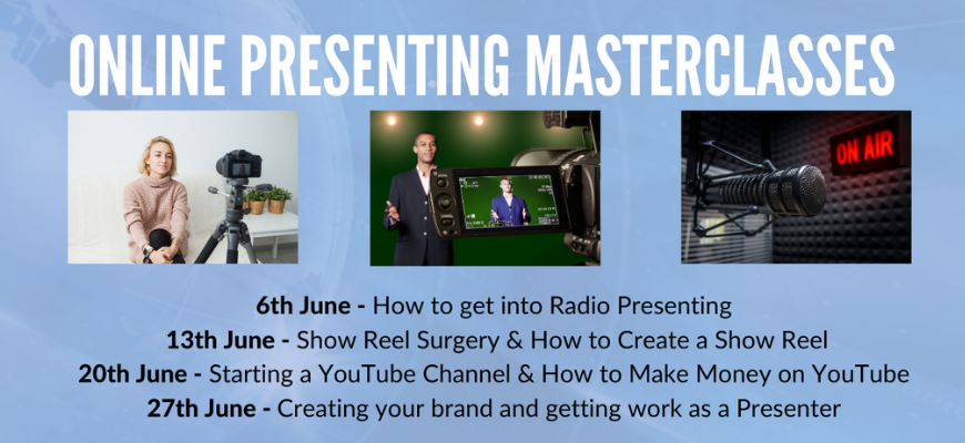 GIVEAWAY - Online Presenting Masterclass with Brian Naylor