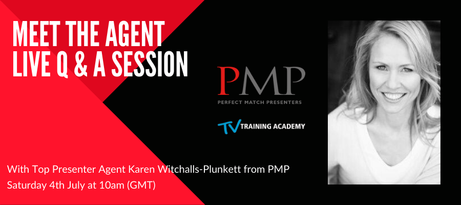 Giveaway -  LIVE Q&A Session With Presenter Agent Karen Witchalls-Plunkett