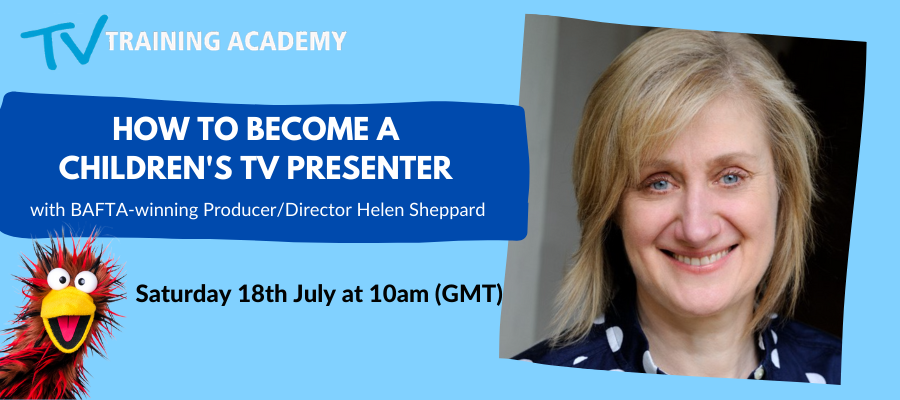 GIVEAWAY- How To Become A Children's Presenter - LIVE Q&A Session