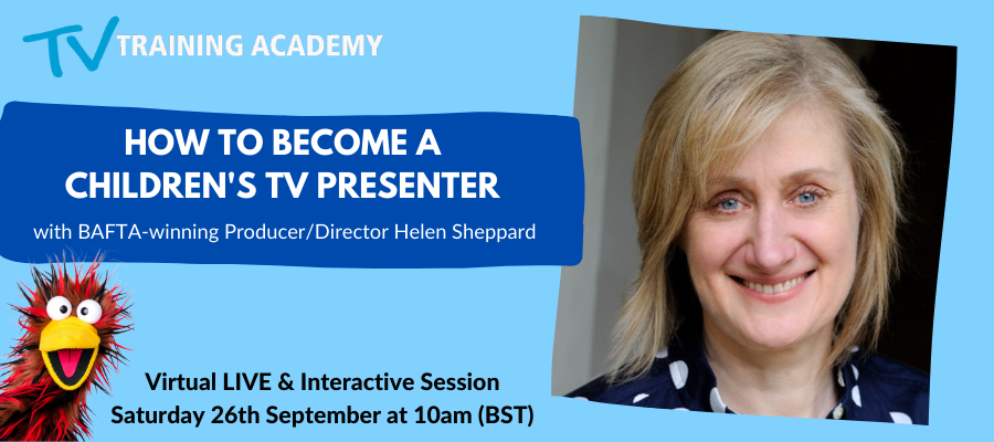 GIVEAWAY - How to Become A Children's Presenter With Helen Sheppard