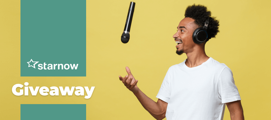 GIVEAWAY - Win a Voice Over Microphone Worth £120!