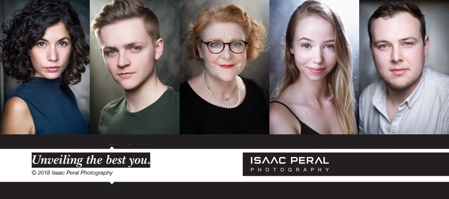 NEW YEAR GIVEAWAY! - Win A Headshot Session With Isaac Peral Photography