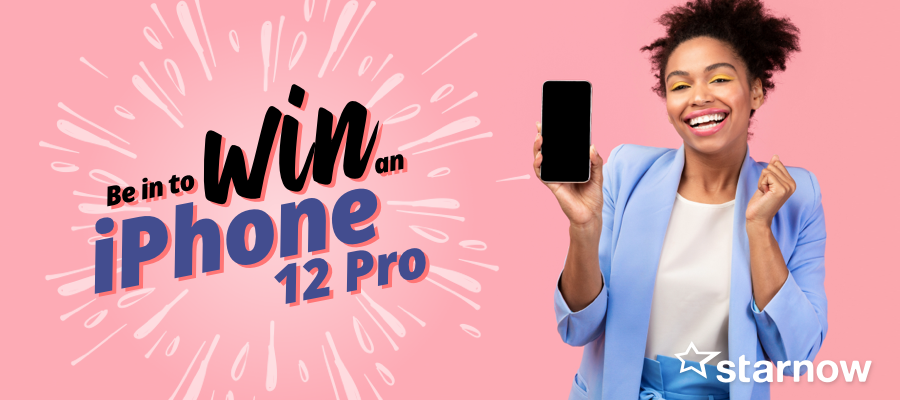 Fancy a new iPhone 12 Pro? Apply for free and you could win one!