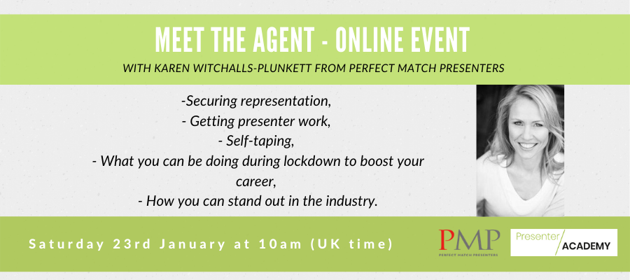 GIVEAWAY - Meet the Agent - LIVE & Interactive Webinar with Presenter Agent