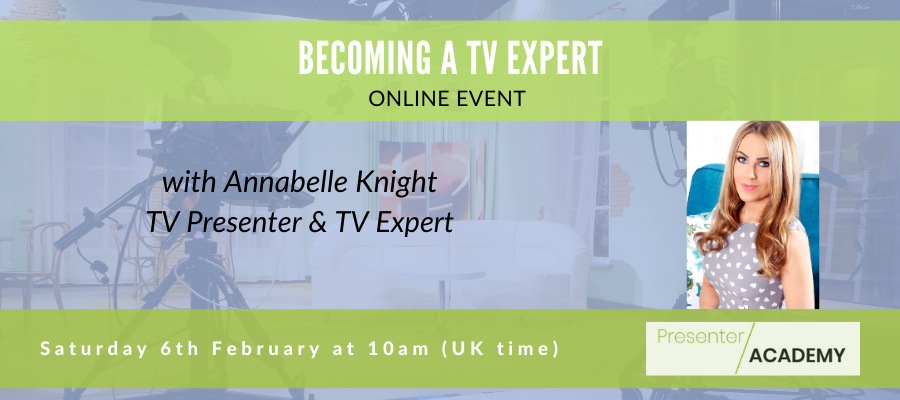 GIVEAWAY - Becoming A TV Expert - LIVE & Interactive Session