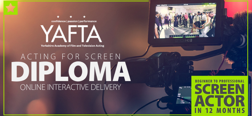 Win Online Acting for Screen Diploma Worth £5000!