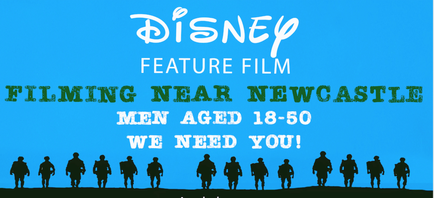 Disney Feature Film Near Newcastle Wants Men For Extras Roles