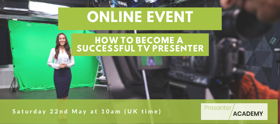 StarNow Giveaway - How to Become A Successful TV Presenter