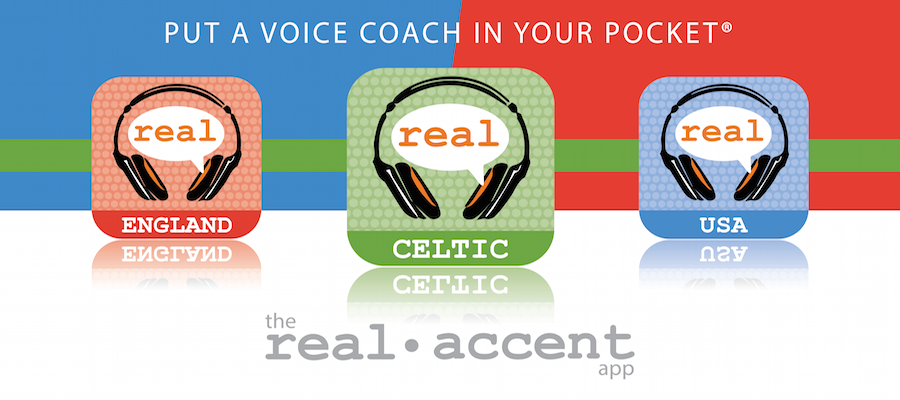GIVEAWAY - Win 'The Real Accent' Apps & Perfect Your Accents at Home!