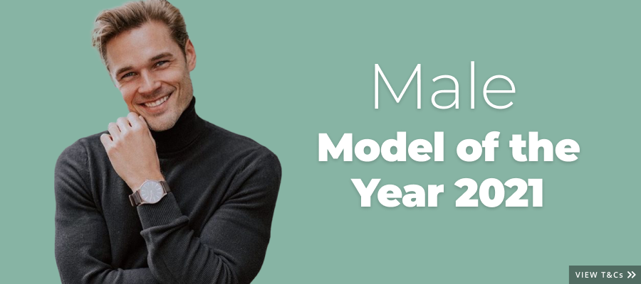 Closing Soon! Are you StarNow's 2021 Male Model of the Year?