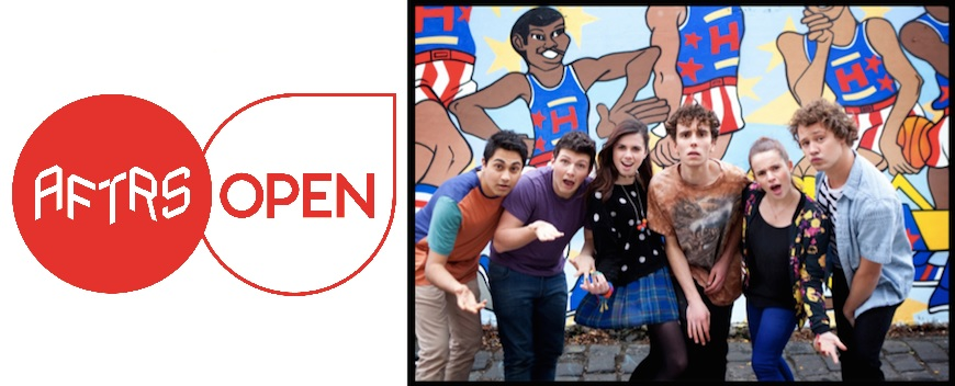 WIN a FREE spot in AFTRS Open Teens 'You're Skitting Me' course!