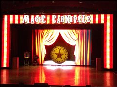 Dancer as Magicians Assistant for Cruise Ship work