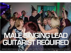 Male Singing Lead Guitarist Required by Busy Professional Wedding Band