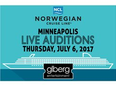 Norwegian Cruise Lines - Dancer Auditions - Minneapolois