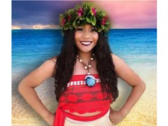 Moana Islander Princess Wanted For Childrens Birthday Parties